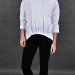 bluzka z zakłądkami