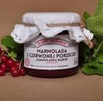 marmolada  z czerwonej porzeczki